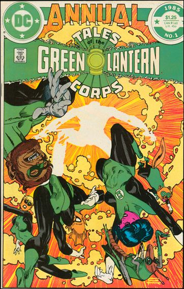 Tales of the Green Lantern Corps Annual 1-A by DC