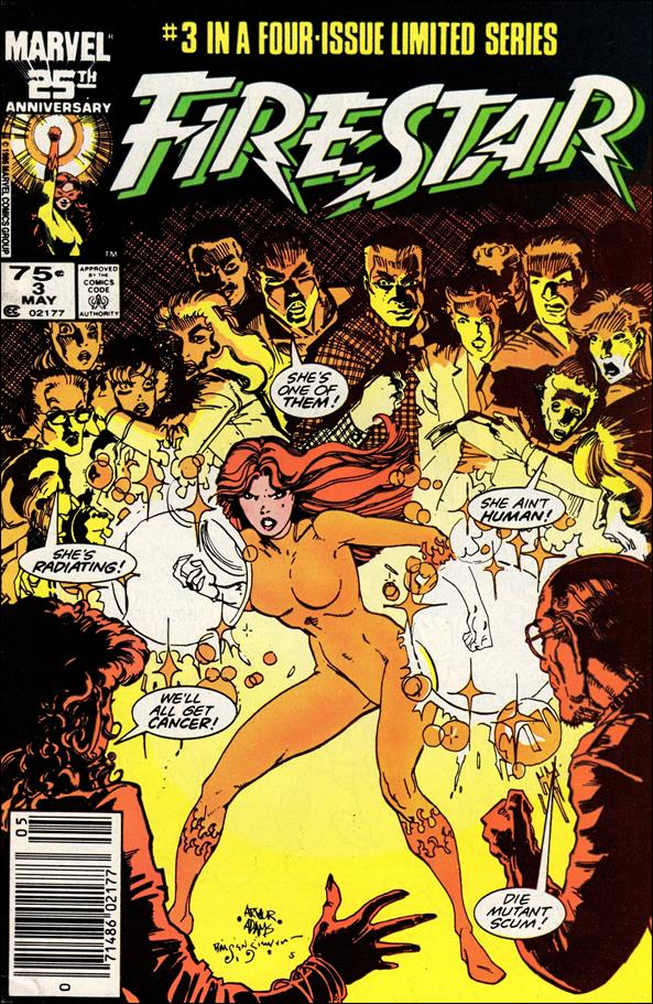 Firestar (1986) 3-A by Marvel