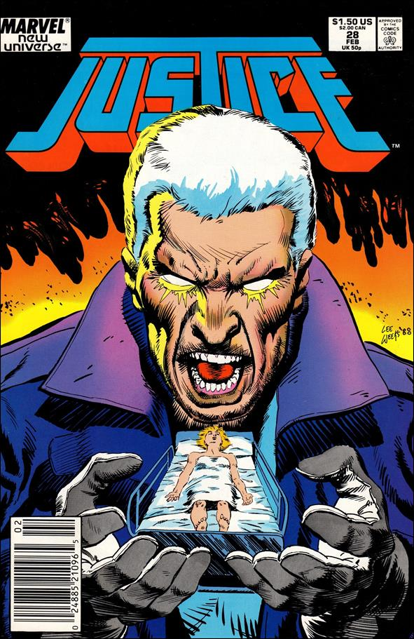 Justice (1986) 28-A by Marvel