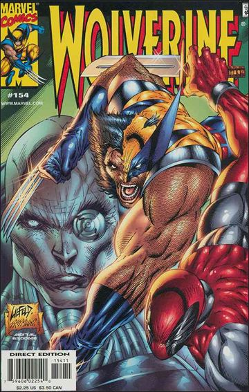 Wolverine (1988)  154-A by Marvel