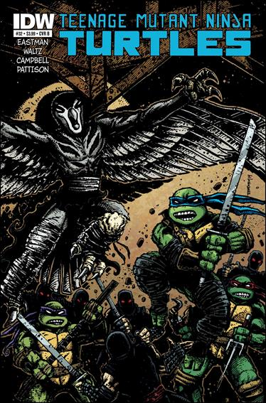 Teenage Mutant Ninja Turtles (2011) 32-B by IDW