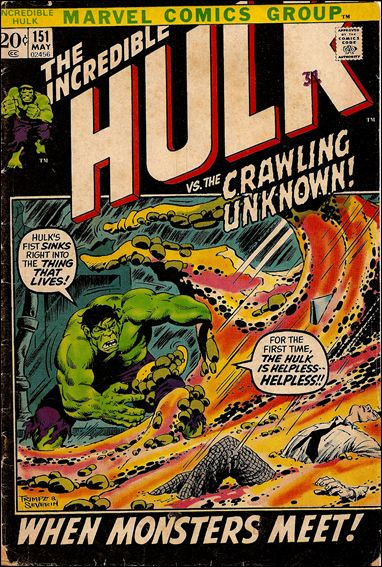 Incredible Hulk (1968) 151-A by Marvel