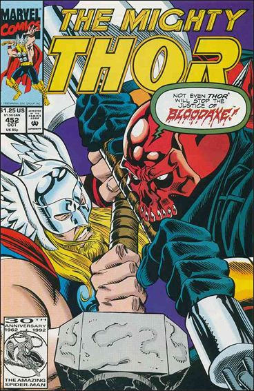 Thor (1966) 452-A by Marvel