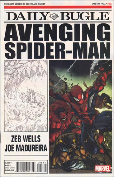 Avenging Spider-Man Daily Bugle 1-A by Marvel