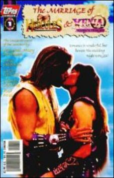 Marriage of Hercules and Xena 1-B by Topps