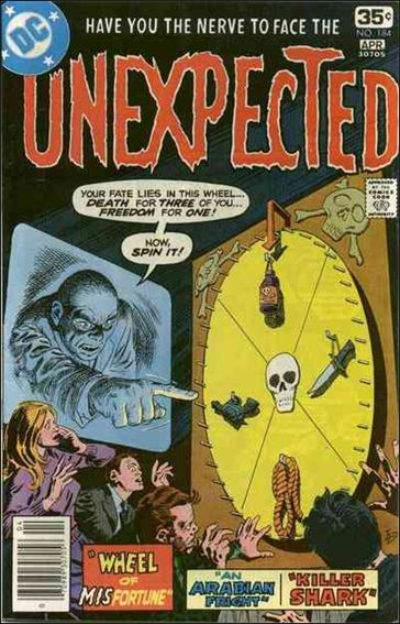 Unexpected (1968) 184-A by DC