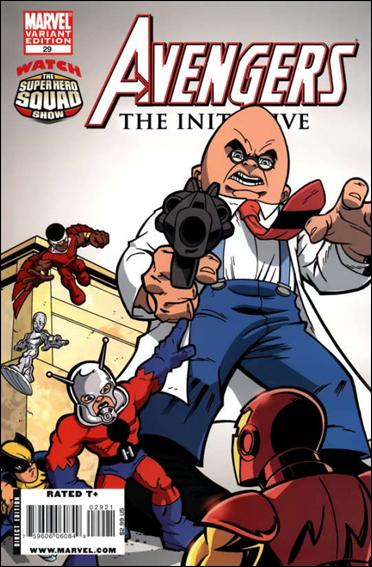 Avengers: The Initiative 29-B by Marvel