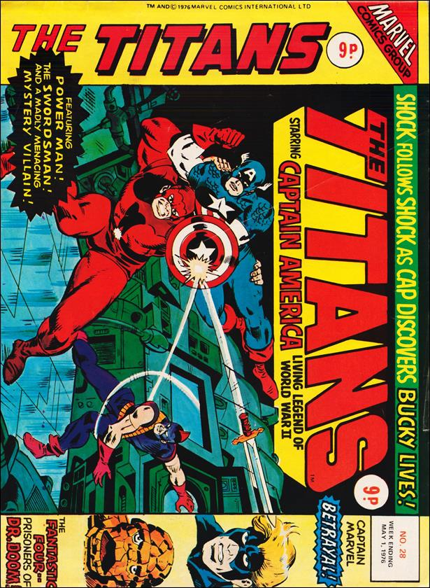 Titans (UK) 28-A by Marvel UK