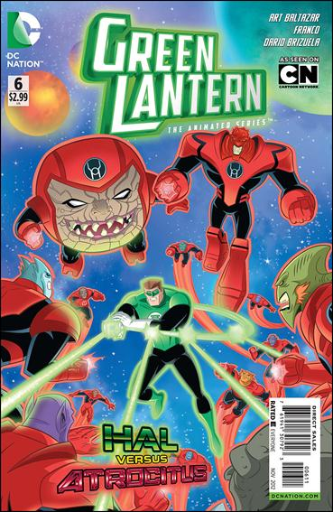 Green Lantern: The Animated Series 6-A by DC