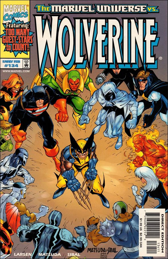 Wolverine (1988)  134-A by Marvel