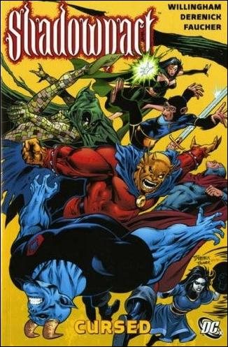 Shadowpact: Cursed nn-A by DC