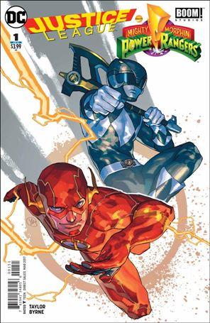 Justice League/Power Rangers 1-D