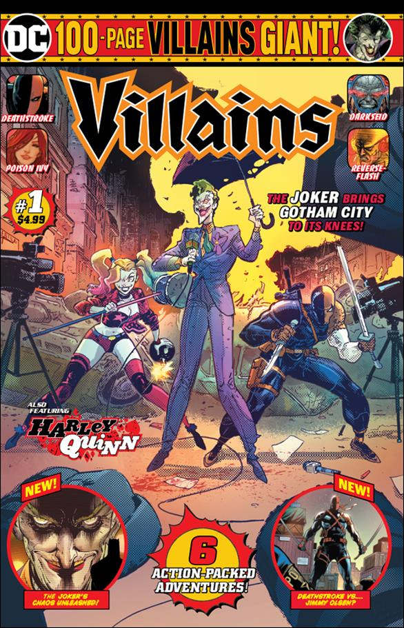 Villains Giant 1-B by DC