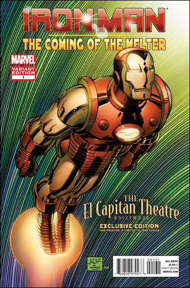 Iron Man: The Coming of The Melter 1-C by Marvel
