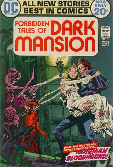 Forbidden Tales of Dark Mansion 6-A by DC