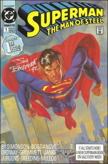 Superman: The Man of Steel 1-Z-INVALID by DC