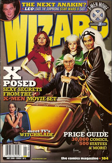 Wizard: The Comics Magazine 104-A by Wizard Press