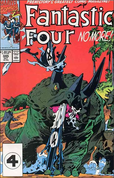 Fantastic Four (1961) 345-A by Marvel