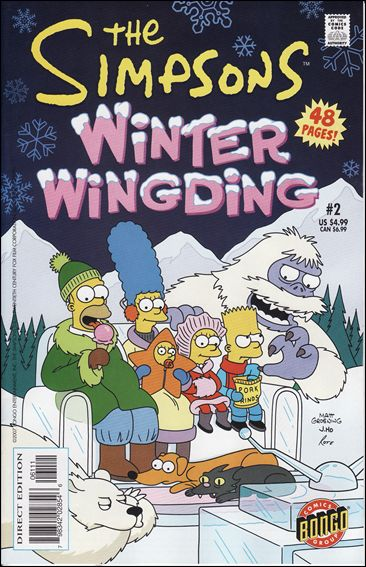Simpsons Winter Wing Ding 2-A by Bongo