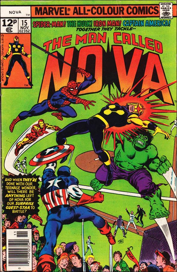 Nova (1976) 15-B by Marvel