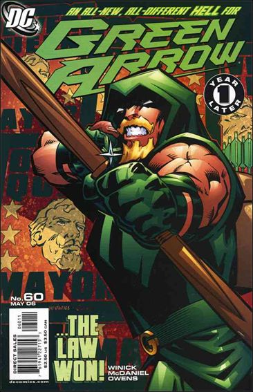 Green Arrow (2001) 60-A by DC