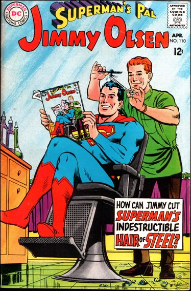 Superman's Pal Jimmy Olsen 110-A by DC