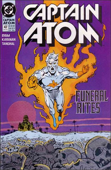 Captain Atom (1987) 47-A by DC