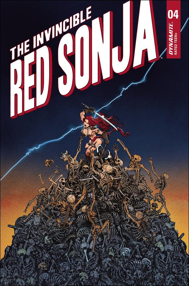 Invincible Red Sonja 4-F by Dynamite Entertainment