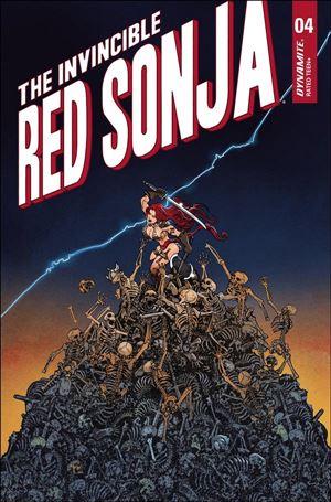 Invincible Red Sonja 4-F