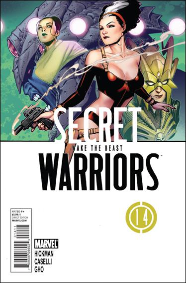 Secret Warriors 14-A by Marvel