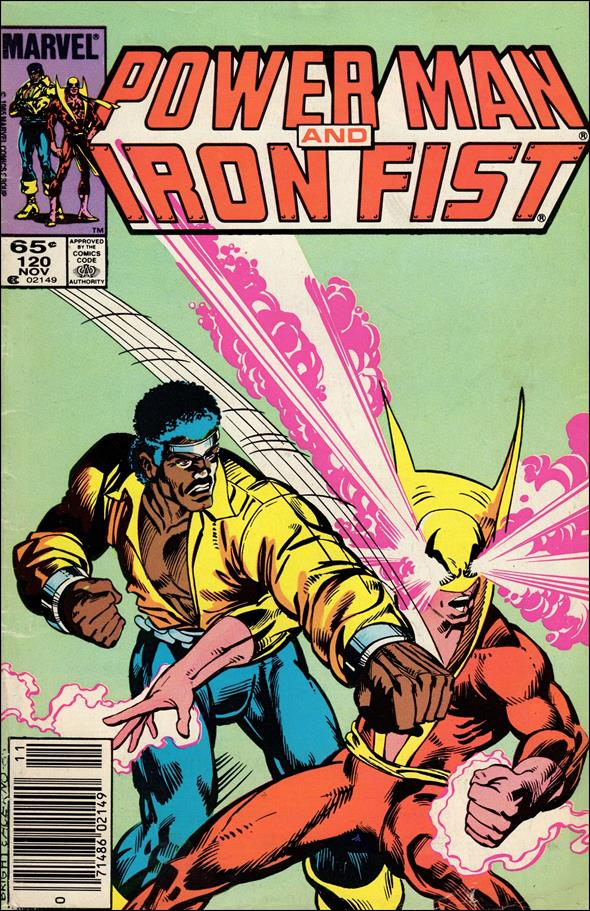 Power Man and Iron Fist (1978) 120-A by Marvel