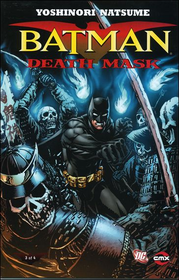 Batman: Death Mask 3-A by CMX