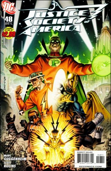 Justice Society of America (2007) 48-A by DC