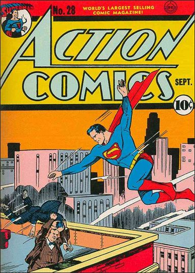 Action Comics (1938) 28-A by DC