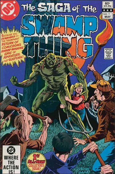 Saga of the Swamp Thing 1-A by DC
