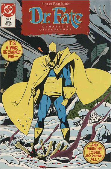 Doctor Fate (1987) 1-A by DC