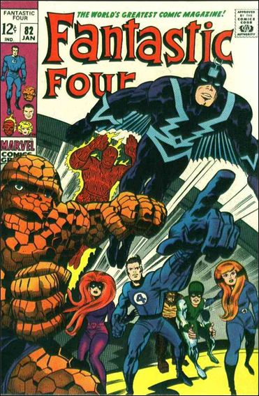 Fantastic Four (1961) 82-A by Marvel
