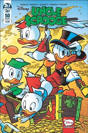 Uncle Scrooge (2015) 50-A