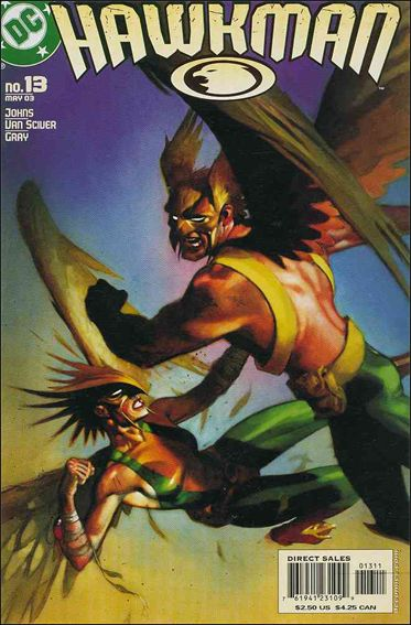 Hawkman (2002) 13-A by DC