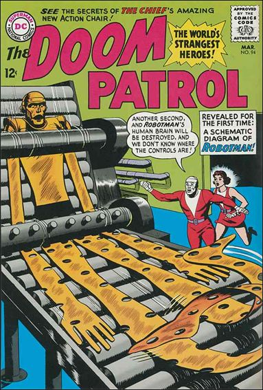 Doom Patrol (1964) 94-A by DC