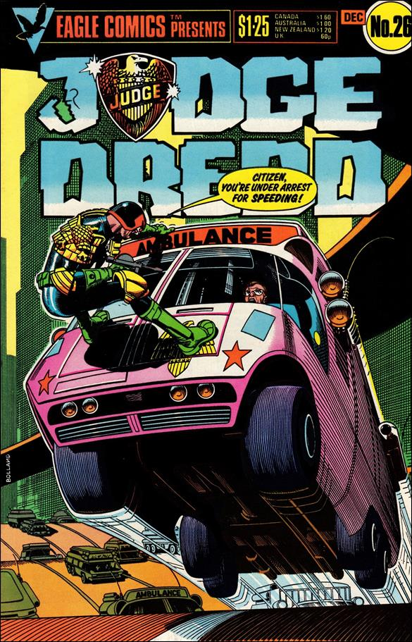 Judge Dredd (1983) 26-A by Eagle Comics