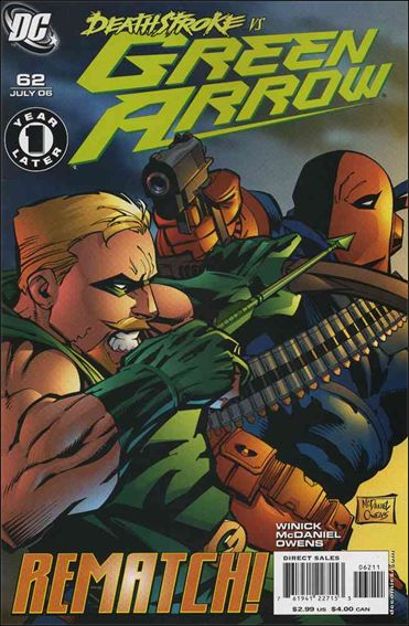 Green Arrow (2001) 62-A by DC