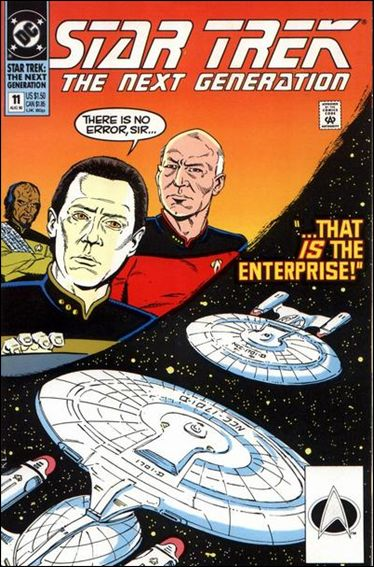 Star Trek: The Next Generation (1989) 11-A by DC