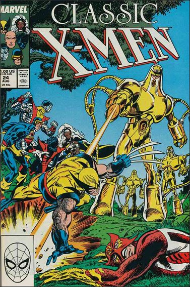 Classic X-Men 24-A by Marvel