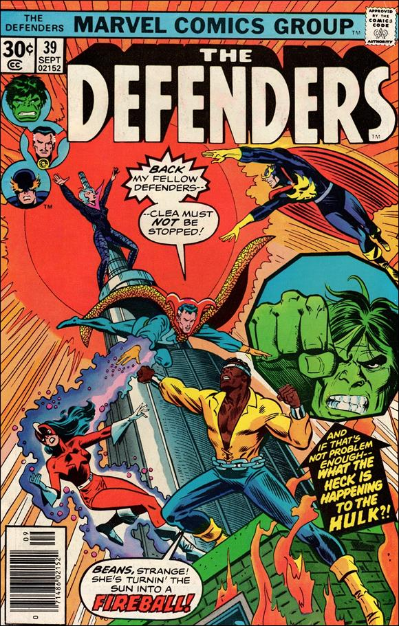 Defenders (1972) 39-A by Marvel