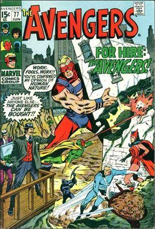 Avengers (1963) 77-A