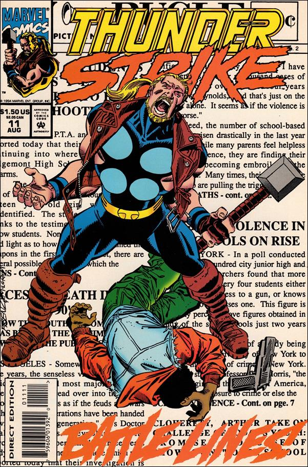 Thunderstrike (1993) 11-A by Marvel
