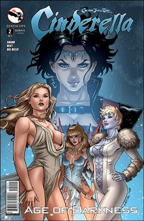 Grimm Fairy Tales Presents Cinderella: Age of Darkness 2-A