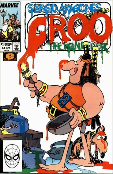 Sergio Aragones Groo the Wanderer 64-A by Epic