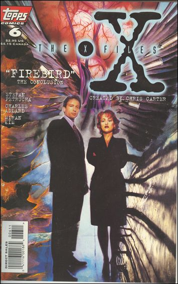 X-Files (1995) 6-A by Topps